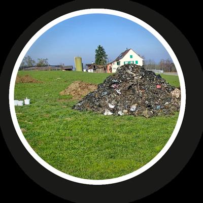 Altlasten, belastetes Bodenmaterial